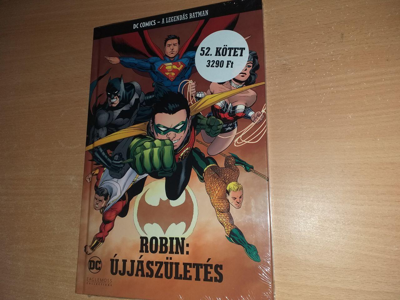 A Legendás Batman 52.: Robin: Újjászületés