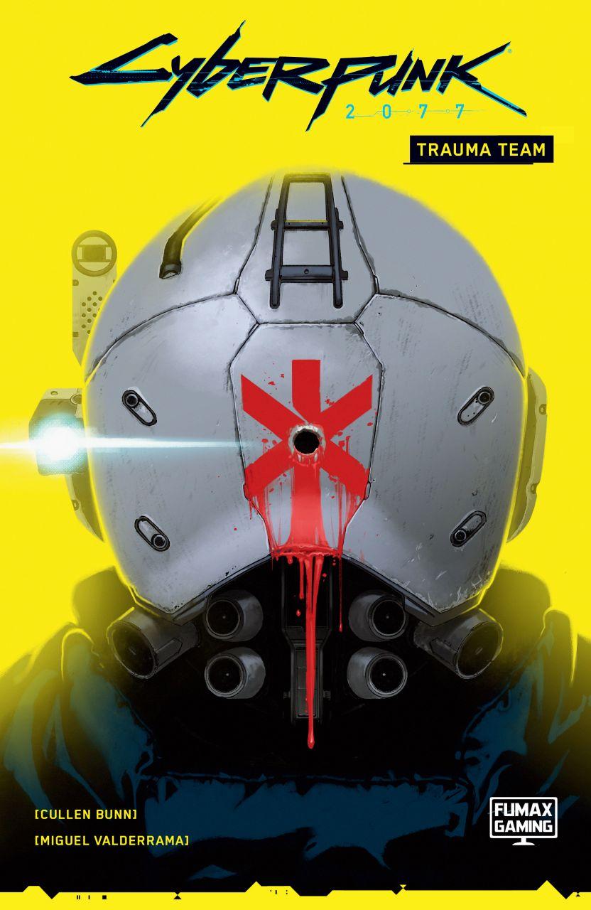 Cyberpunk 2077: Trauma Team keménytáblás képregény