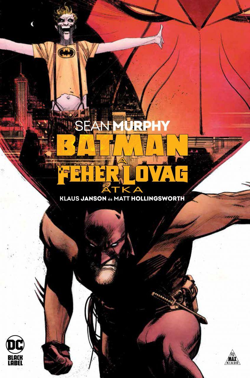 Batman - A Fehér Lovag átka keménytáblás képregény