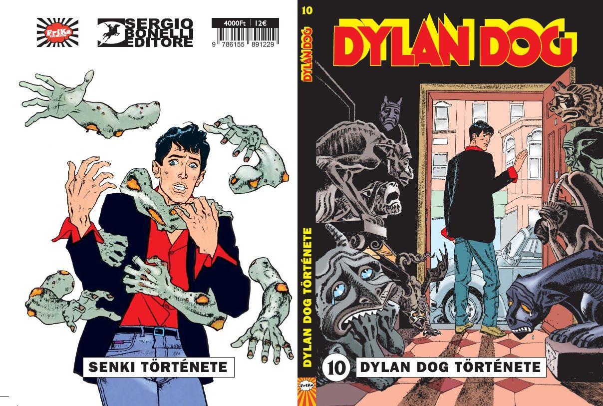 Dylan Dog 10: Dylan Dog története puhatáblás képregény