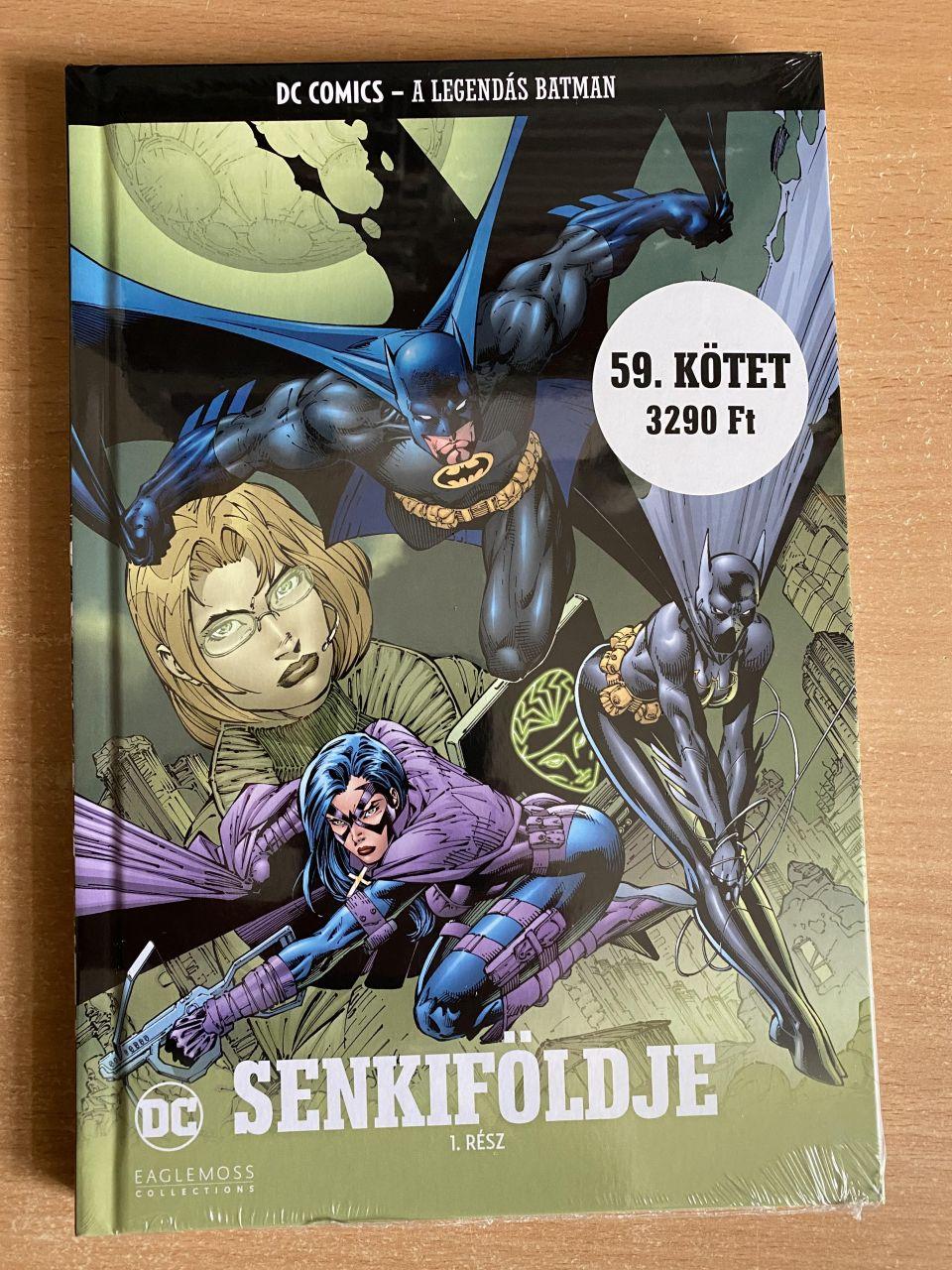 A Legendás Batman 59.: Senkifölde 1. kötet