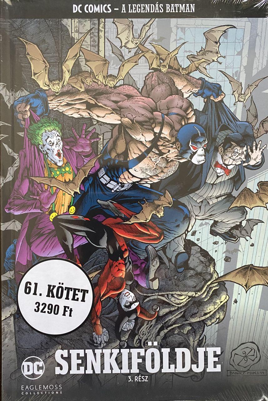 A Legendás Batman 61.: Senkiföldje 3. kötet