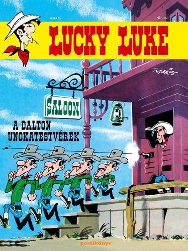 Lucky Luke 41 - A Dalton unokatestvérek puhatáblás képregény