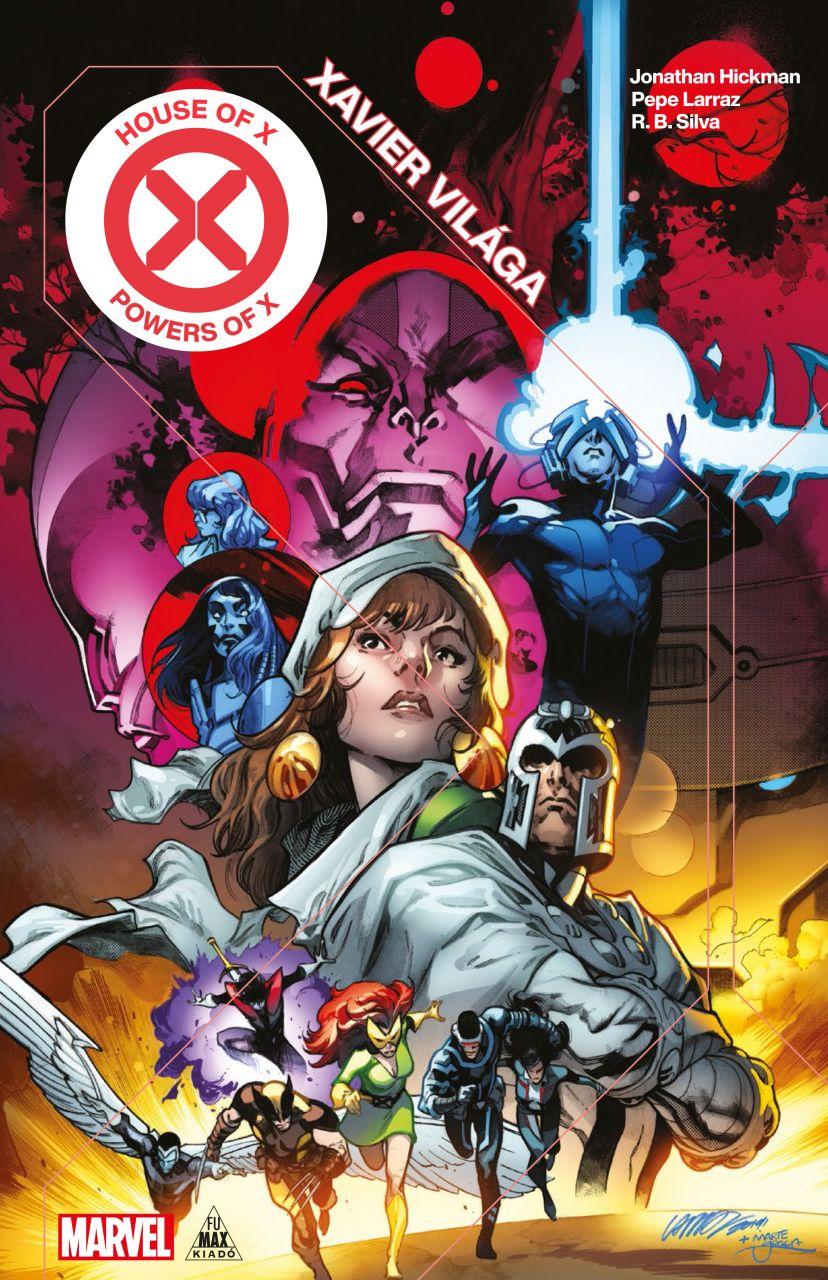 Jonathan Hickman: X-Men - Xavier világa / X hatványai (House of X, Powers of X) keménytáblás képregény (normál verzió)
