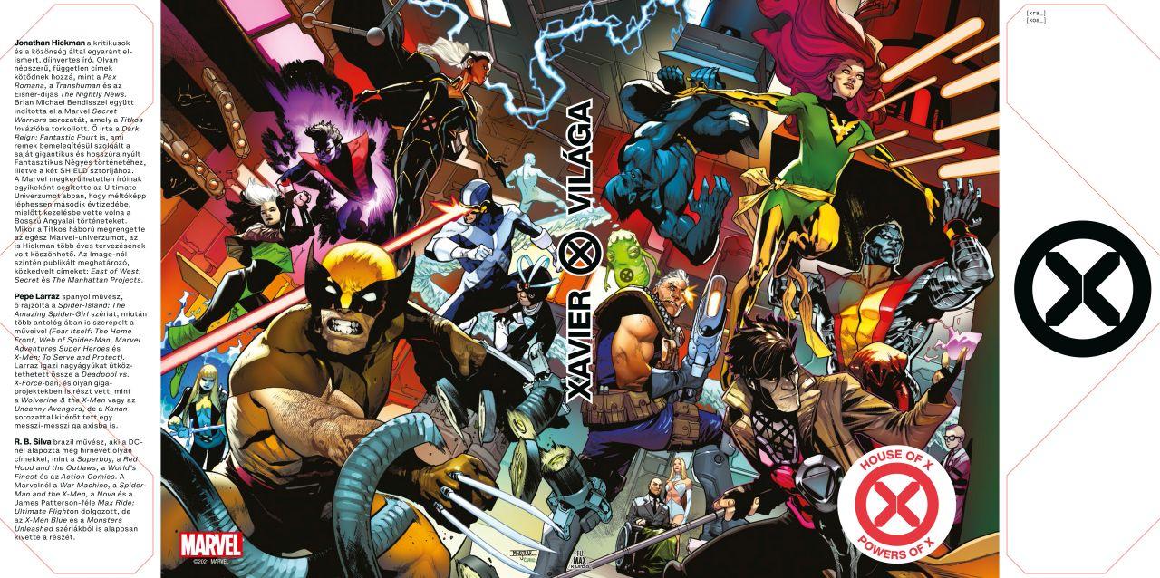 LIMITÁLT Jonathan Hickman: X-Men - Xavier világa / X hatványai (House of X, Powers of X) keménytáblás képregény