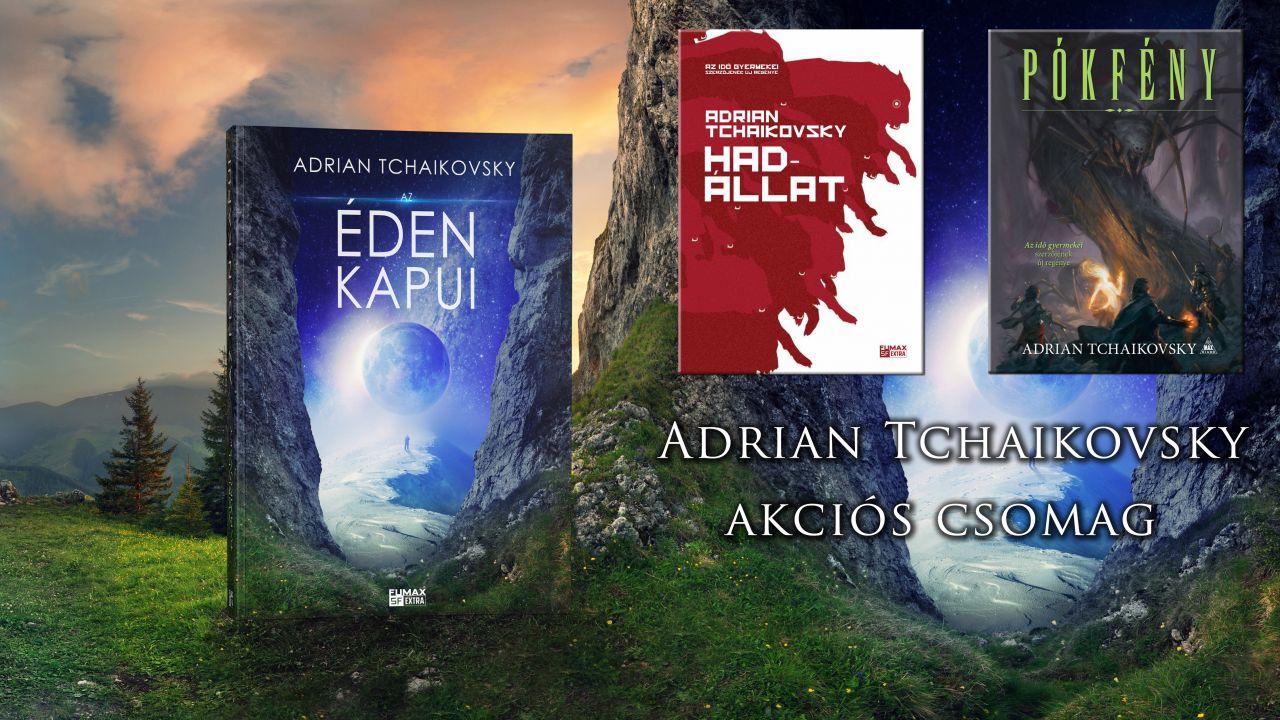 Adrian Tchaikovsky akciós csomag (Az Éden kapui, Hadállat, Pókfény)