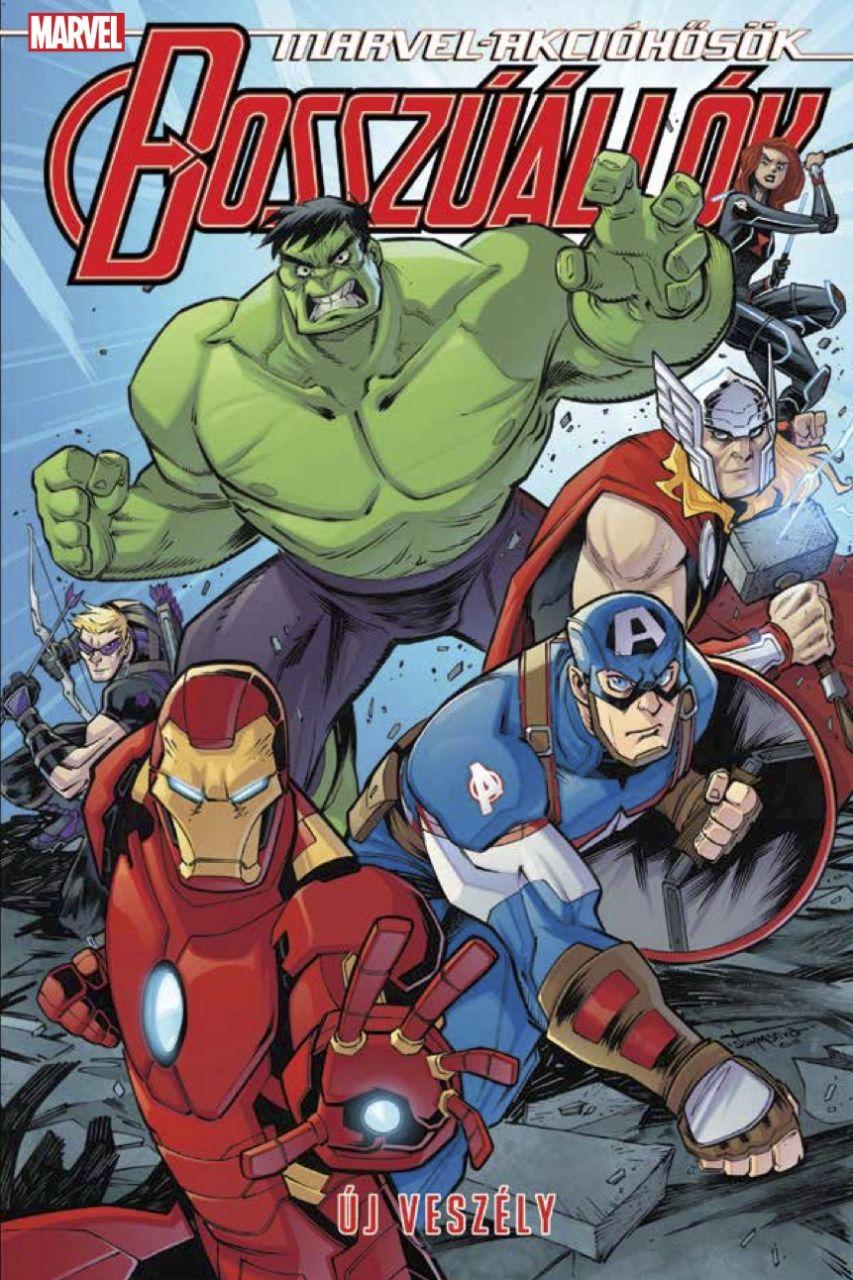 Marvel akcióhősök 3.: Bosszúállók 1. - Új veszély képregény