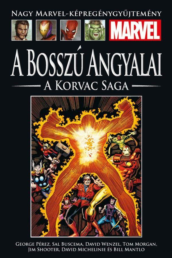 Nagy Marvel Képregénygyűjtemény 92.: A Bosszú Angyalai: A Korvac Saga