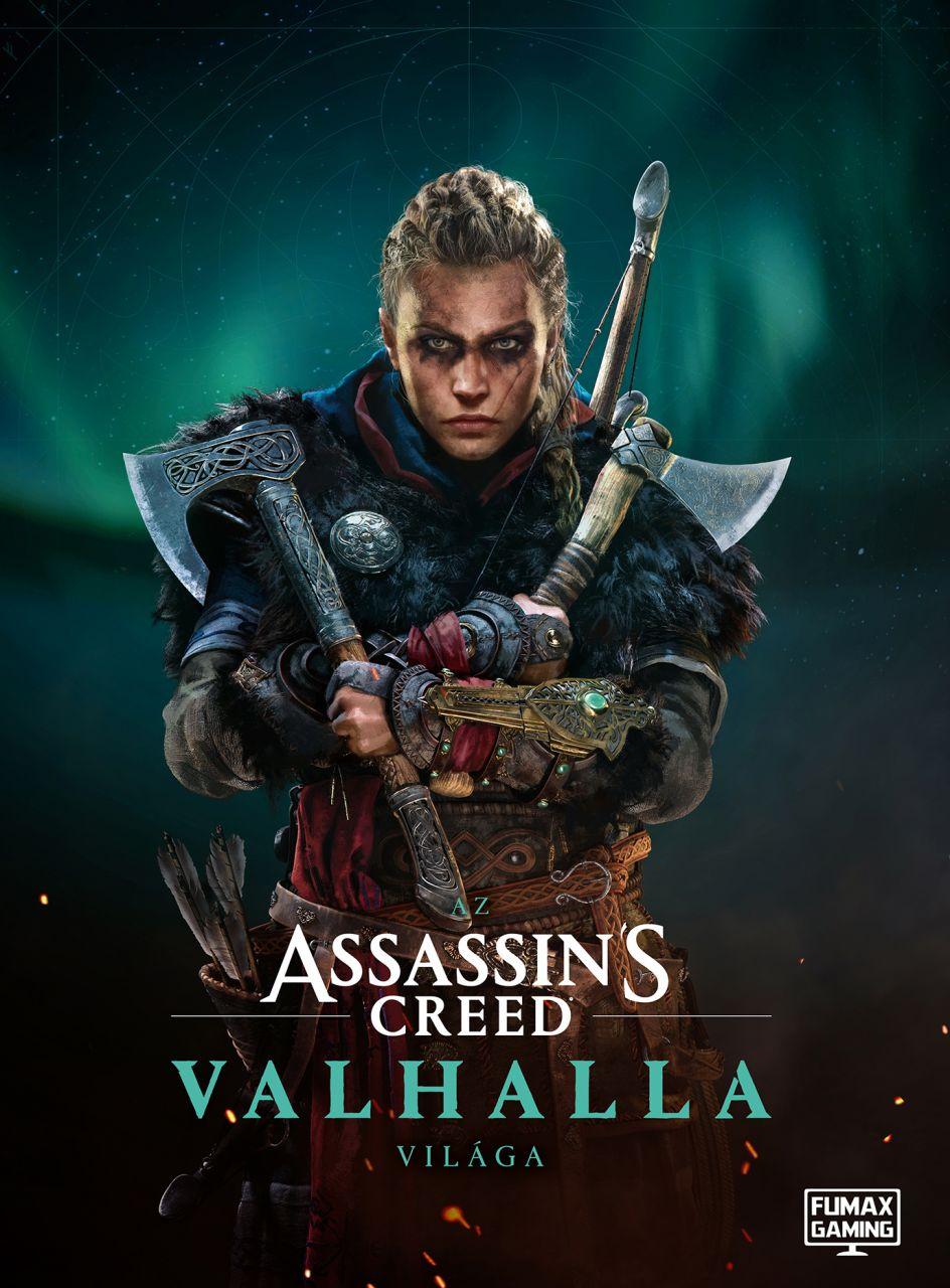 Az Assassin's Creed Valhalla világa, extra nagy alakú, keménytáblás album