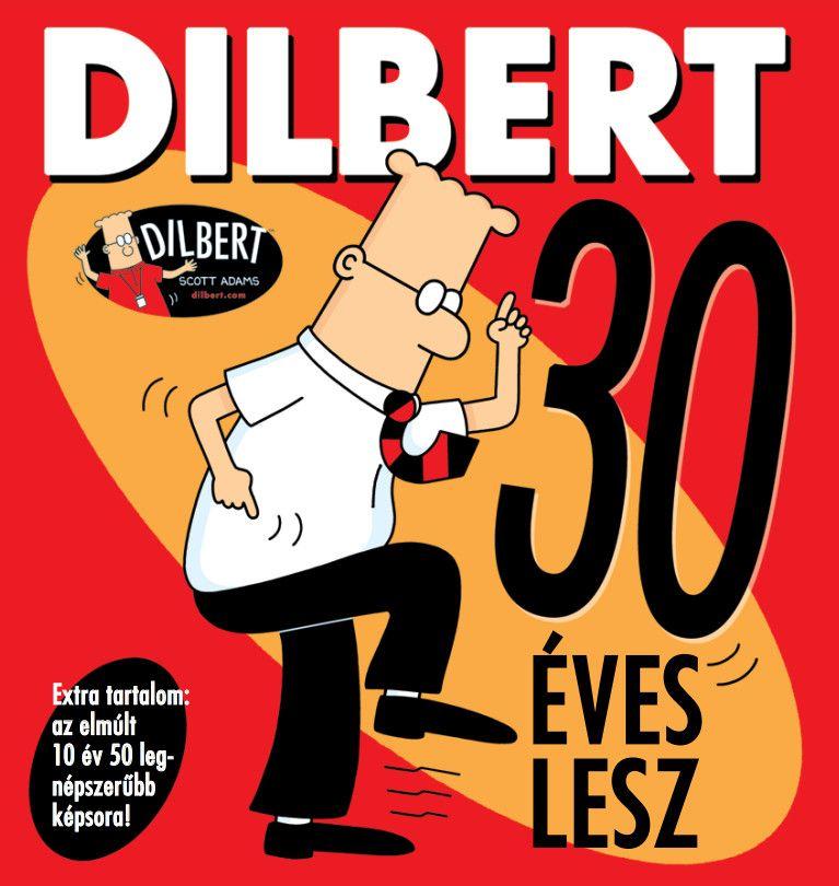 Dilbert 30 éves lesz - puhatáblás képregény