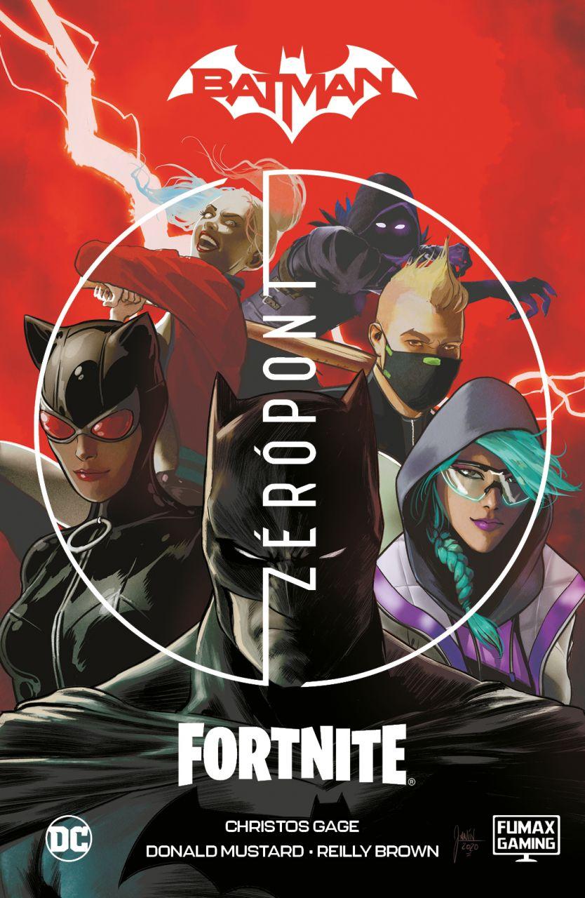 Batman / Fortnite - Zéró Pont keménytáblás képregény játékbeli kódokkal