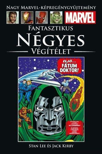 Nagy Marvel Képregénygyűjtemény 97.: Stan Lee: Fantasztikus Négyes - Végítélet képregény