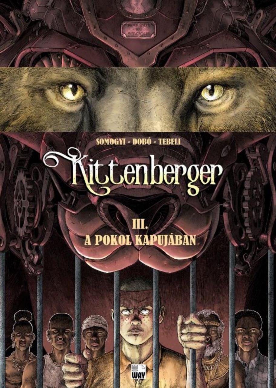 Kittenberger 3.: A pokol kapujában képregény