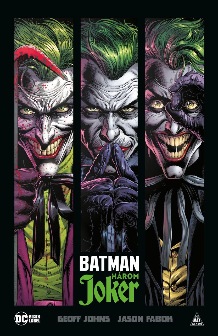 Batman: Három Joker keménytáblás képregény előrendelés